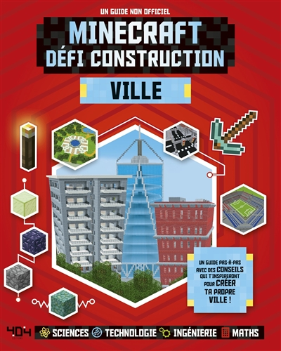 Minecraft défi construction - Ville | 9791032402511 | Informatique