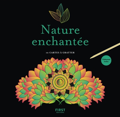 Carte à Gratter - Nature enchantée | 9782412043288 | Cartes à gratter