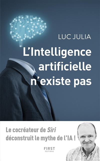 Intelligence Artificielle n'Existe Pas (L') | 9782412043400 | Informatique