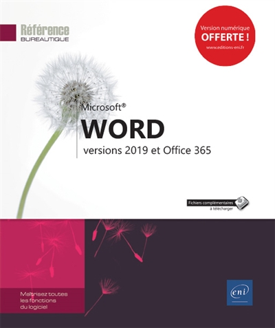 Microsoft Word 2019 + Office 365 | 9782409017032 | Informatique