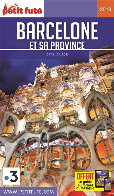 Barcelone et sa province 2019 | 9782305002750 | Pays