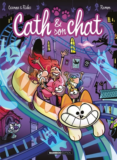 Cath & son chat T.08 | 9782818946817 | BD