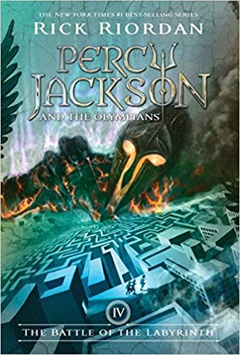 Percy Jackson & The Olympians T.04 - Battle of the Labyrinth | 9781423101499 | Jeunesse