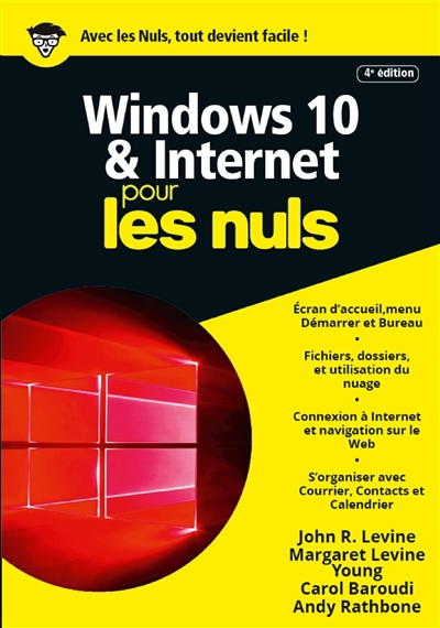Windows 10 & Internet pour les nuls | 9782412043578 | Informatique