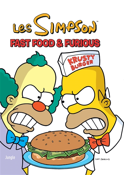Les Simpson T.39 - Fast food & furious | 9782822226660 | BD