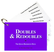 Doubles & Redoubles - The Quick Reference Deck | Matériel