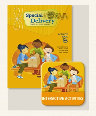 Special Delivery - Activity Book B with Interactive Activities | 9782761363198 | Cahier d'apprentissage - 6e année