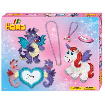 Hama - 4000 Billes à Fondre - Unicorns and Seahorse | Hama