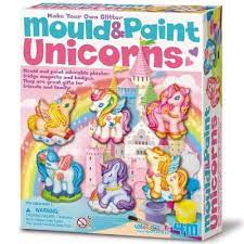 Kit Moulage et Peinture - Licorne à Paillette (Mould and Paint Unicorns) | Bricolage divers