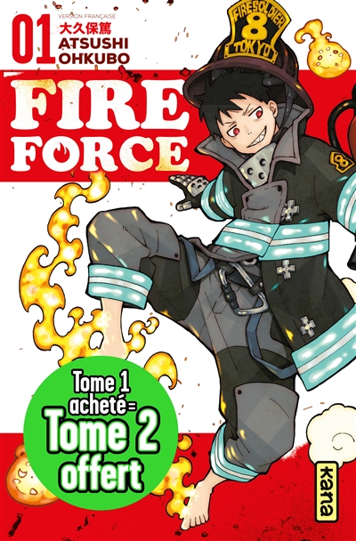 Fire force T1 et T2 | 3701167132609 | Manga adulte