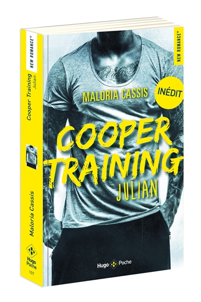 Cooper training T.01 - Julian | 9782755640946 | New Romance | Érotisme