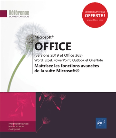 Microsoft Office (versions 2019 et Office 365) | 9782409018572 | Informatique