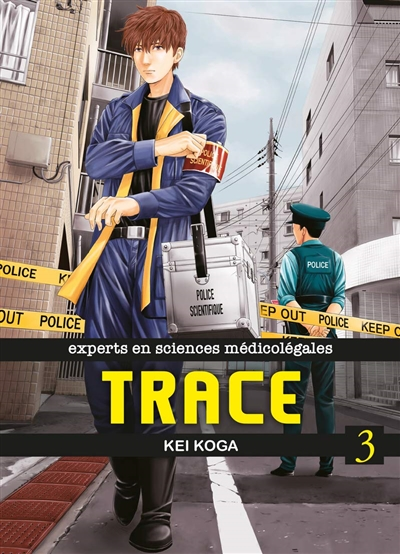 Trace : experts en sciences médico-légales T.03 | 9782372873833 | Manga adulte