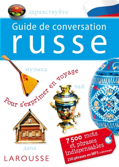 Guide de conversation russe | 9782035880833 | Dictionnaires