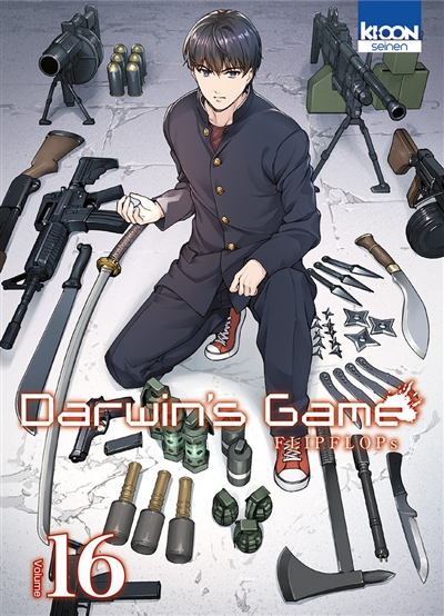 Darwin's game T.16 | 9791032704202 | Manga adulte