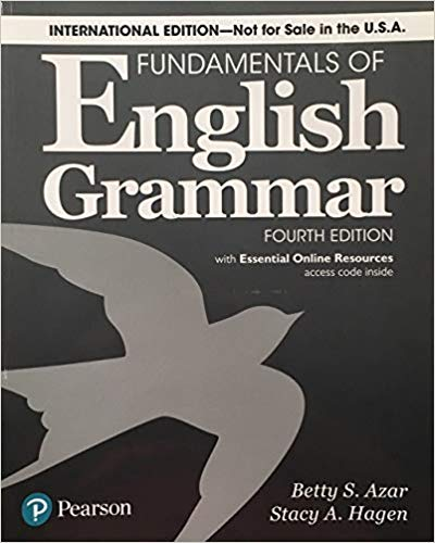 Fundamentals of English Grammar 4th Ed., international edition with essential online resources | 9780134661148 | Complément