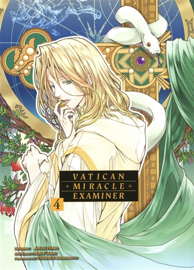 Vatican miracle examiner T.04 | 9782372874281 | Manga adulte