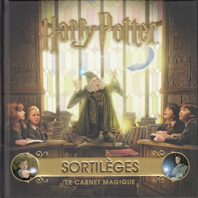Harry Potter - Sortilèges : le carnet magique | 9782075127950 | Arts