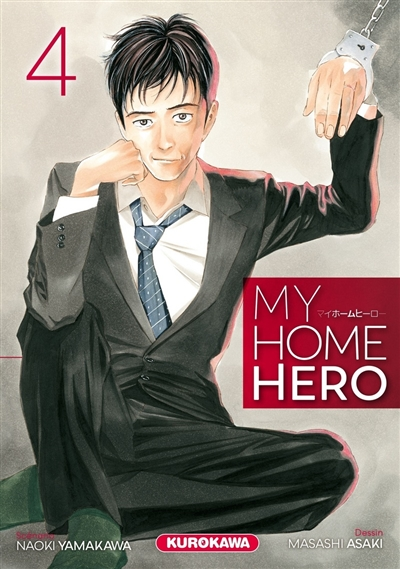 My home hero T.04 | 9782368527450 | Manga adulte