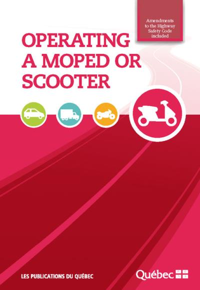 Operating a moped or scooter | 9782551264445 | Transports