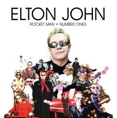 Elton John - Rocket Man - Number Ones | Anglophone