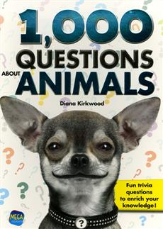 1000 Questions About Animals  | 9782898070136 | Documentaires