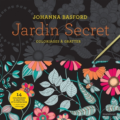 Jardin secret | 9782501137744 | Cartes à gratter