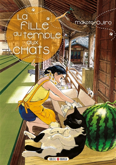 La fille du temple aux chats T.04 | 9782302076617 | Manga adulte