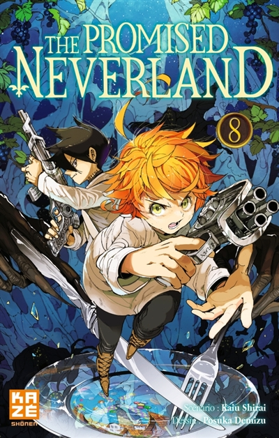 The promised neverland T.08 | 9782820335517 | Manga adulte