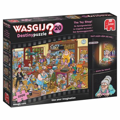 Casse-tête 1000 - Wasgij Destiny #20 - Le magasin de jouets (The toy shop) | Casse-têtes