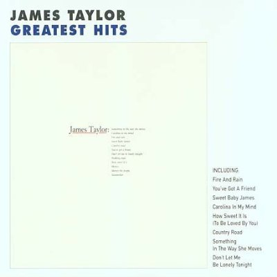 Agrandir  James Taylor's - Greatest hits | Anglophone