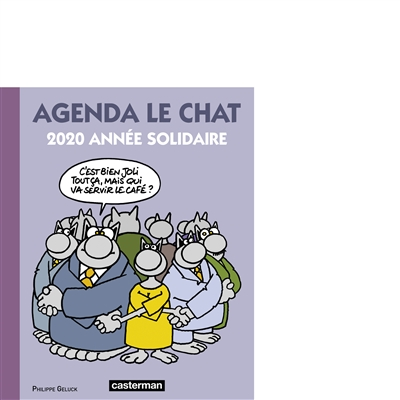 Agenda Le Chat 2020 | Agendas et Planificateurs
