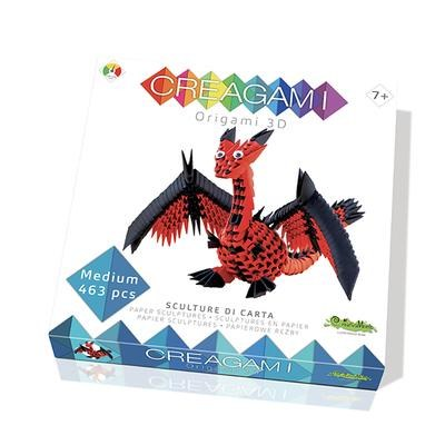 Creagami - Dragon Origami 3D  (481 pc) | Bricolage divers