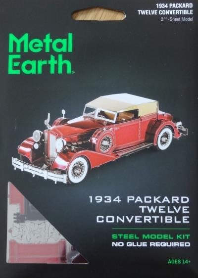 Metal Earth - Packard Twelve 1934 convertible | Construction