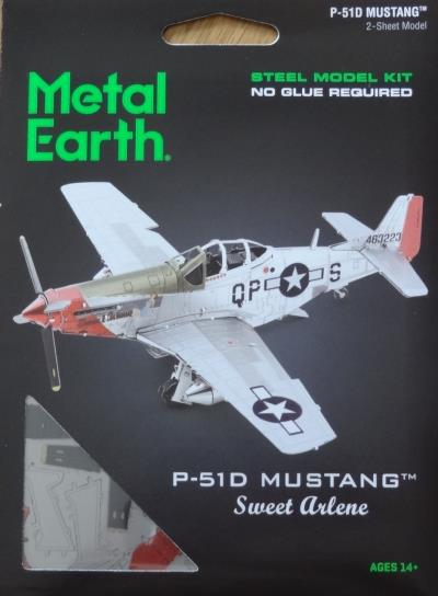 Meatal Earth - P51D Mustang | Bricolage divers