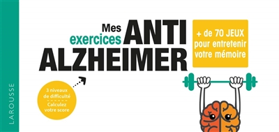 Mes exercices anti-Alzheimer | 9782035971609 | Bricolage et Passe-temps adulte