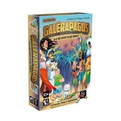 Galèrapagos Ext. tribu et personnage | Extension