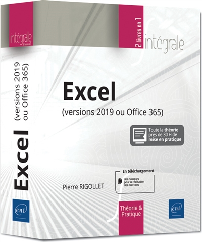 Excel (versions 2019 ou Office 365) | 9782409020179 | Informatique
