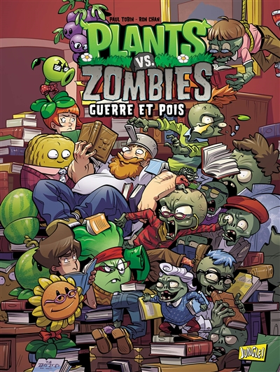 Plants vs. Zombies T.11 - Guerre et pois | 9782822228299 | BD