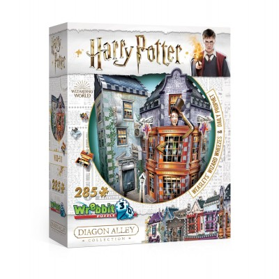 Casse-Tête 3D Wrebbit Collection Harry Potter : Chemin de Traverse - Weasley, farces pour sorciers | Casse-têtes