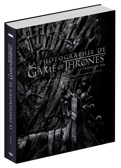 La photographie de Game of thrones : le trône de fer  | 9791032402924 | Arts