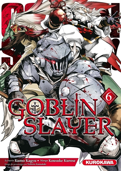 Goblin slayer T.06 | 9782368528389 | Manga adulte