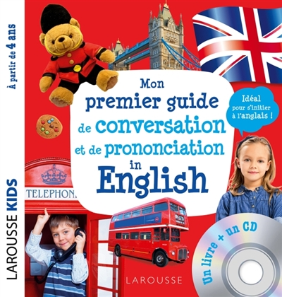 Mon premier guide de conversation et de prononciation in English | 9782035979162 | Dictionnaires