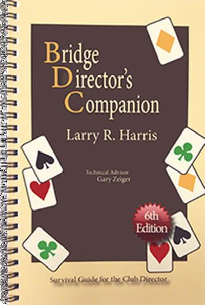 Bridge director's companion | Livre anglophone