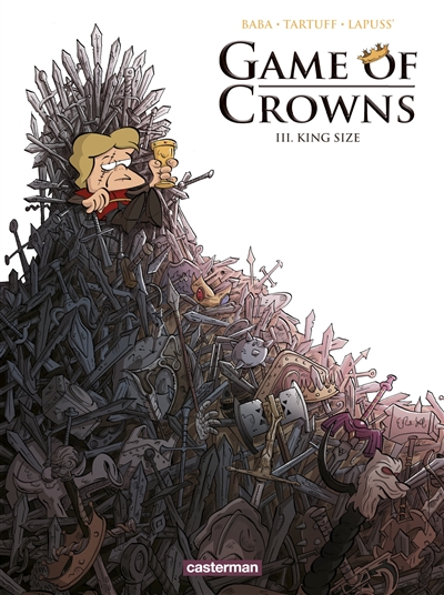 Game of crowns T.03 - King size | 9782203198913 | BD adulte
