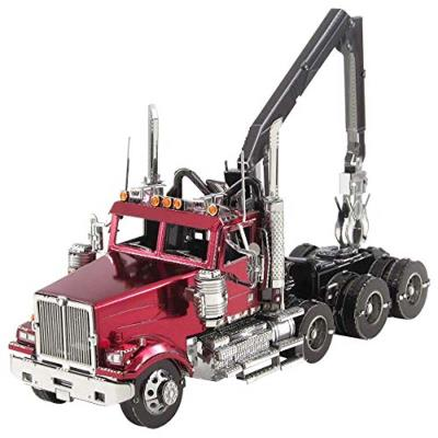 Metal Earth - Western star 4900SF log truck | Construction