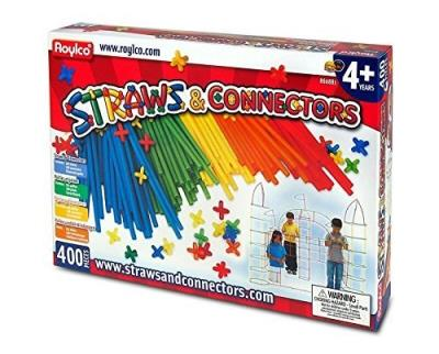 Pailles et joints (straws and connectors) 400 pièces | Construction