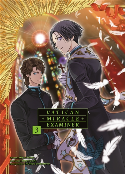 Vatican miracle examiner T.03 | 9782372873963 | Manga adulte