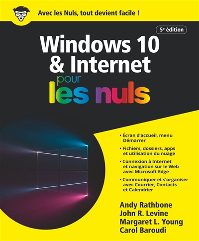 Windows 10 & Internet pour les nuls | 9782412050736 | Informatique
