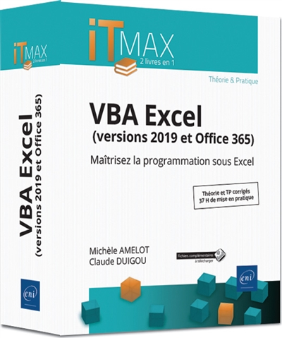 VBA Excel (versions 2019 et Office 365) | 9782409020469 | Informatique